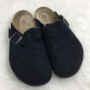 Birkenstock Soft Footbed Boston Clogs Size L10 M8